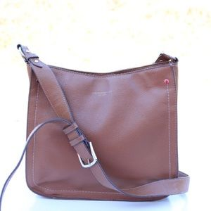 Tignanello leather cross body bag